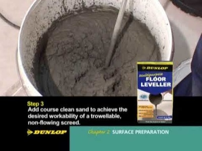 Dunlop DIY How-To Tile DVD - Part 2: Surface Preparation