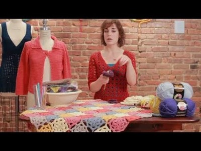 How to Crochet a Flower   Crocheting
