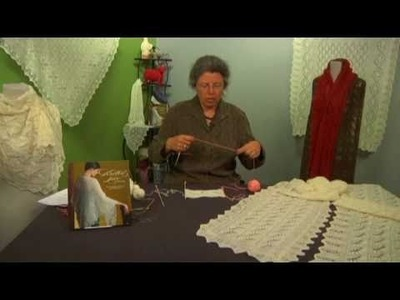 How to Knit Modern Estonian Lace Shawl with Nancy Bush
