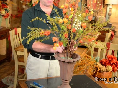 How To Make a Simple, BEAUTIFUL Fall Floral Arrangement!