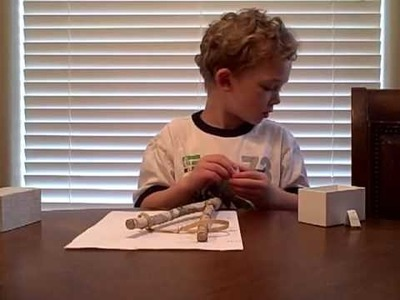 How to make a sling-shot