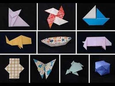 How to Make An Easy Origami For Kids (Easy - Quick) || Dictionary How