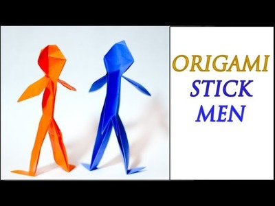 How to Make an Origami Person (Intermediate Level)