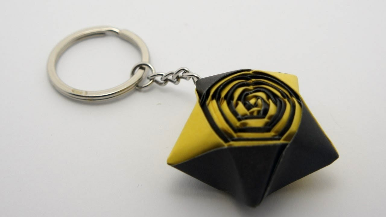 How to make an Origami Star Keychain