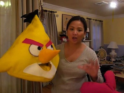 How to make Angry Birds Costume
