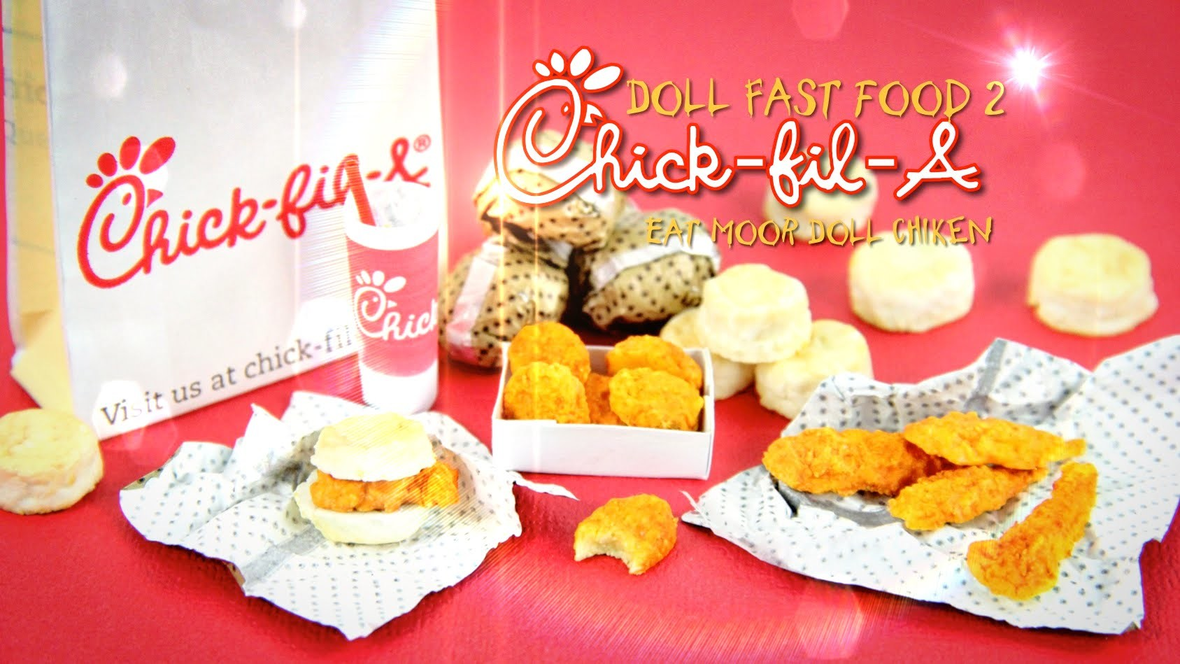 How to Make Doll Fast Food 2 - Doll Crafts