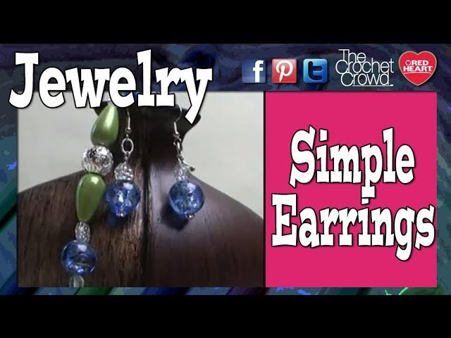 How To Make Simple Earrings