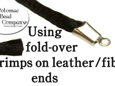 How to use Fold-Over Crimps