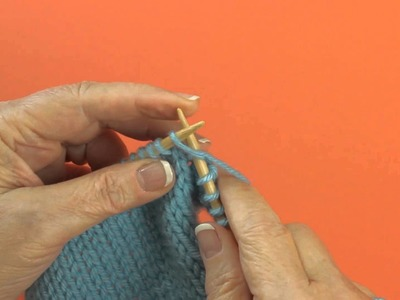 Knitting Double Increase