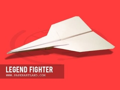 Let's make a Paper Airplane - the BEST PLANE | Legend