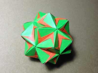 Modular Origami.  Sonobe 30units