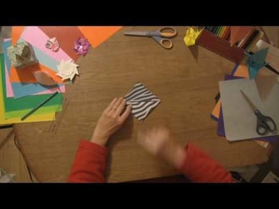 Origami & Paper Crafts : How to Make a Paper Balloon