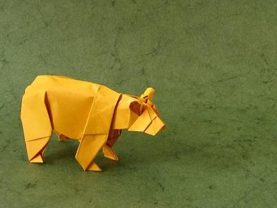 Origami Instructions: Bear (Stephen Weiss)
