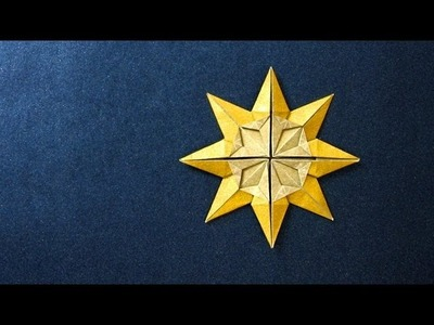 Origami Instructions: Star Doris (Klaus-Dieter Ennen)