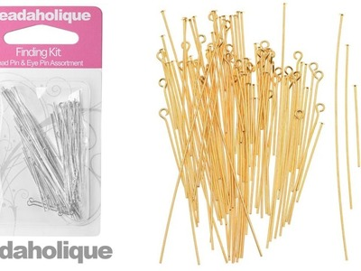 Product Spotlight: Beadaholique Head Pin and Eye Pin Finding Kit