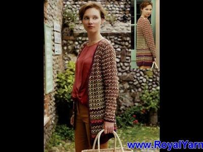 Rowan Pattern Book Holiday Crochet Book Review - Cotton Glace & Creative Linen Yarn