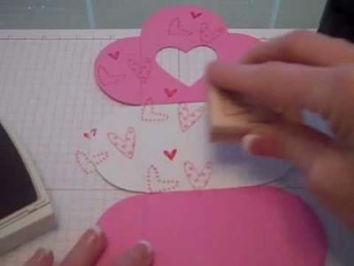 Stampin Up Valentines Petal Box
