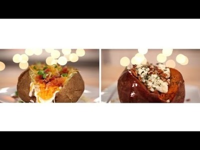 Two Baked Potato Topping Ideas for Thanksgiving | Picture Perfect Food