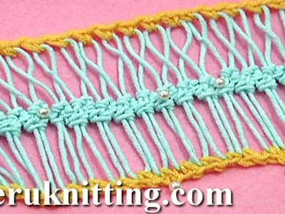 Work Into Loops of Hairpin Strip Braid Tutorial 24 Twisting loops
