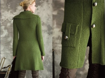 #32 Military Coat, Vogue Knitting Holiday 2012