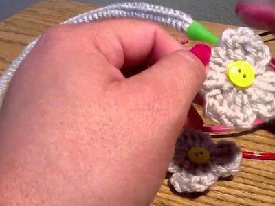Crochet accessories para el  cabello video #2