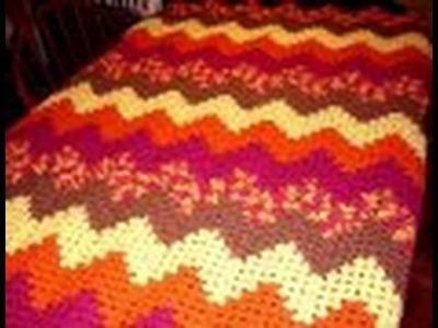 Crochet Along: Grannie Ripple Part 11.mpg