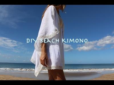 DIY Beach Kimono