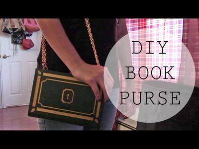 DIY Book Purse.Clutch.Secret Storage