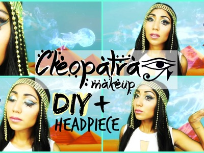 DIY Cleopatra Headpiece & Inspired Makeup