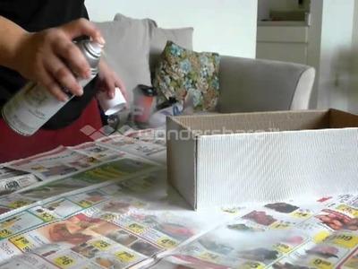 DIY decorative storage box