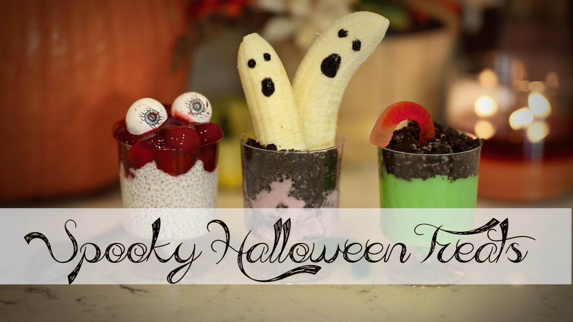 DIY Halloween YUMMY Spooky Treats | ANNEORSHINE