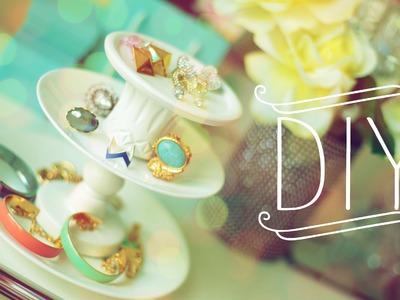 DIY Jewelry Stand {Creative|Storage|Display}