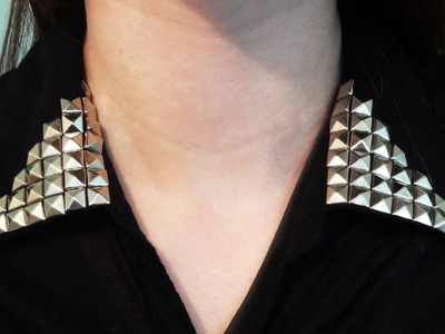 DIY: Studded Collar