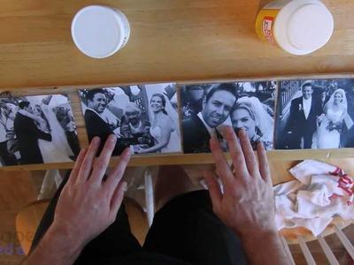 DIY Wood Photo Transfers