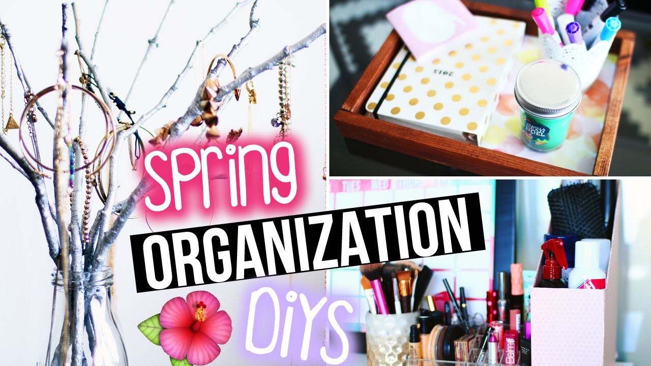 DIYs to Get Organized for Spring! DIY Room Decor for Jewelry +More! | LaurDIY