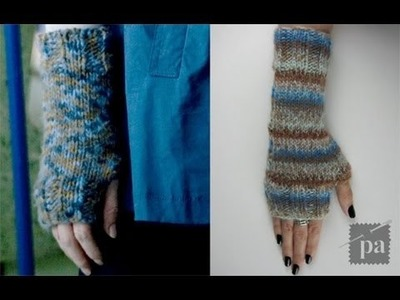 Fingerless Mittens inspired by Alice Cullen - E11