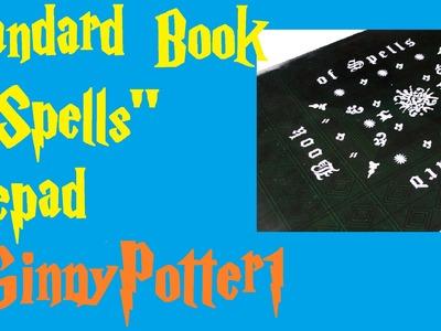 "Harry Potter Crafts:""Standard Book Of Spells"" Notepad"