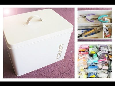 How I Store My Clay │ Craft Box Tour