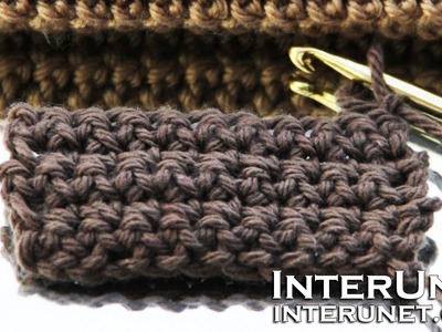 How to crochet - basics for beginners - single crochet stitch