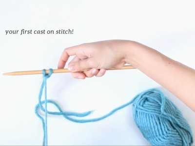 How to Knit - Easy Cast On