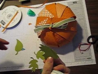 How to make 3D Pumpkins for Fall!