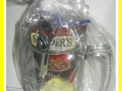 How to make a Beer Mug Gift Basket. DIY Valentine's GIFT IDEAS. DIY. Handmade Gifts for Men