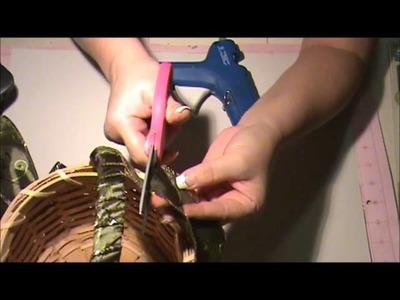 How to Make a Christmas Basket
