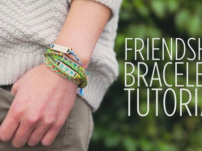 How to Make a Friendship Bracelet on a Loom