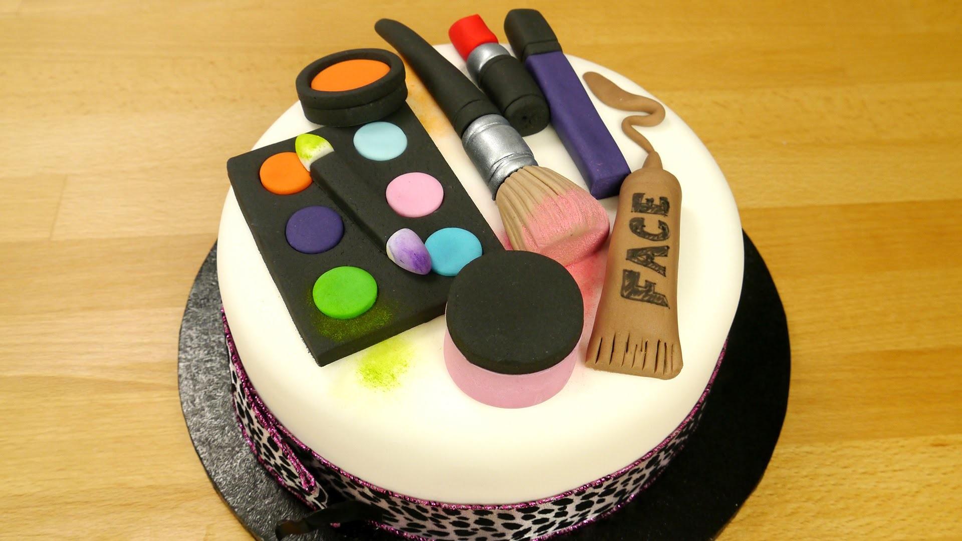 Как бы сделать косметика для торты