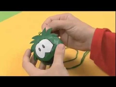 How To Make A Puffle - Disney Junior Club Penguin Art Attack
