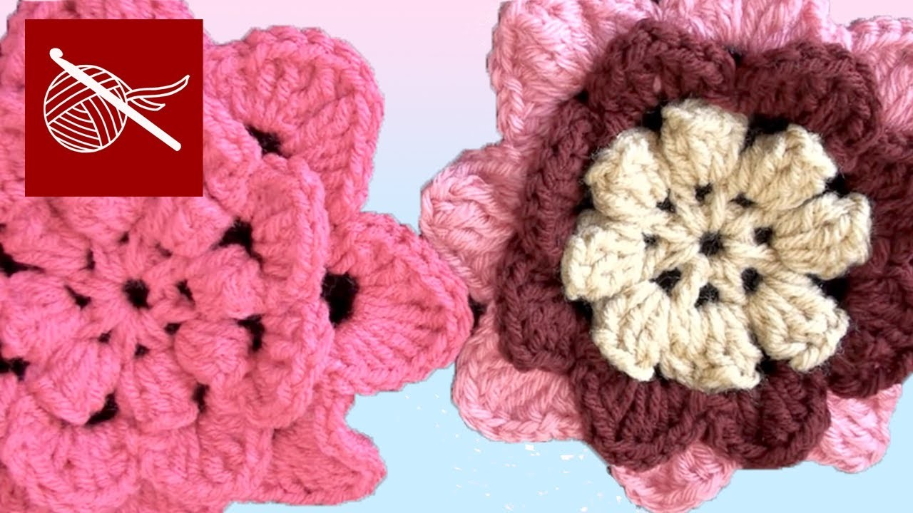 How to make an Irish Rose Crochet Flower Crochet Geek