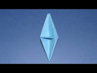 How To Make An Origami 3D Diamond