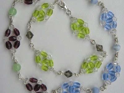 How to Make Beaded Wire Wrapped Bracelet - Part 2