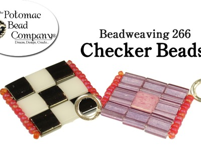 How to Make Checker Beads
